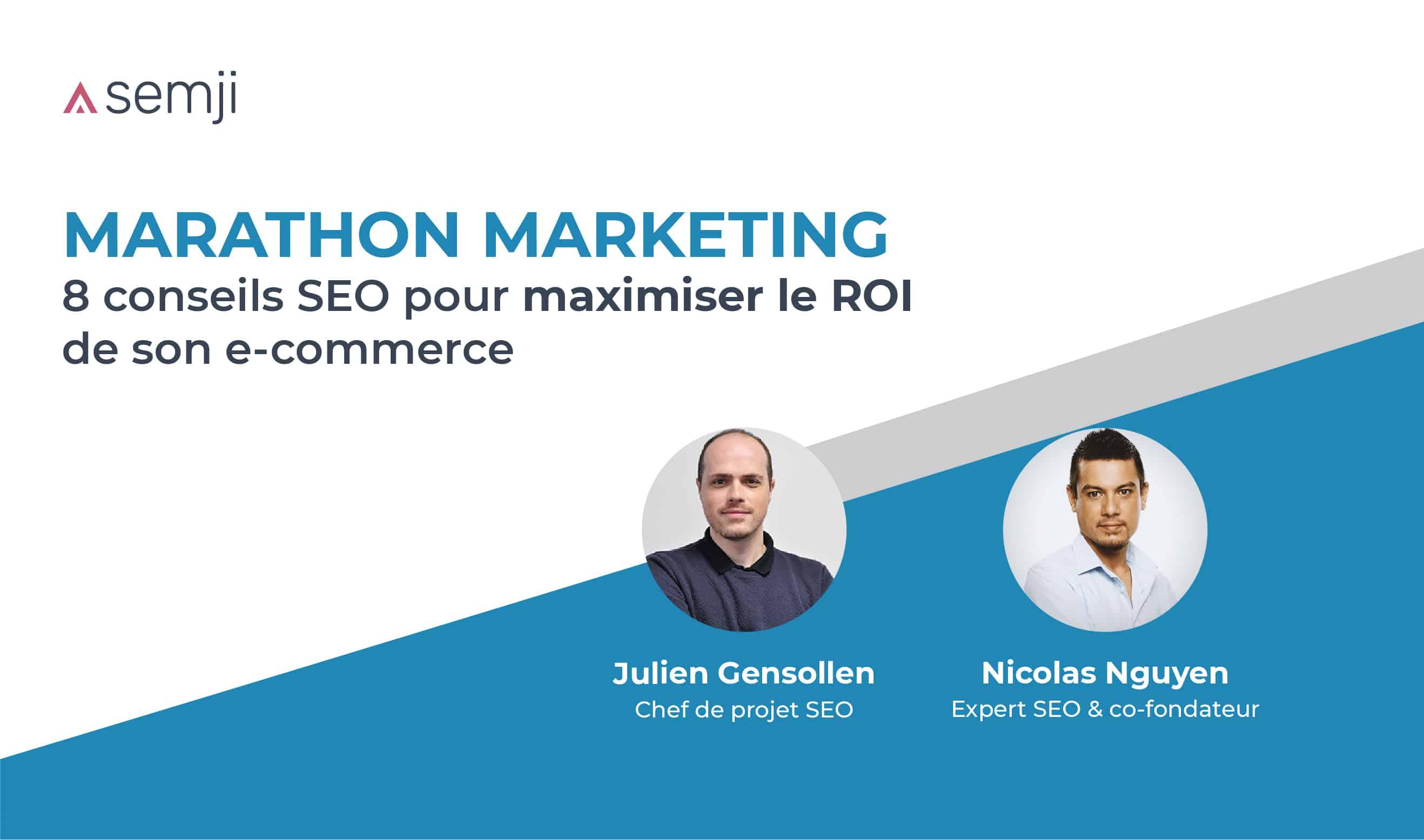 Webinar – Marathon du marketing SE Ranking Mai 2020