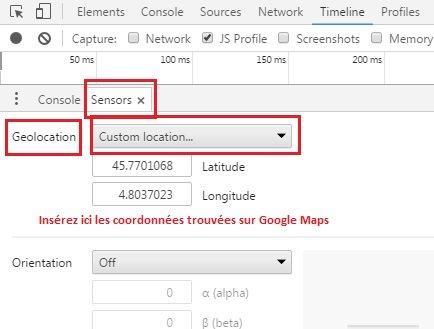 aide géolocalisation google