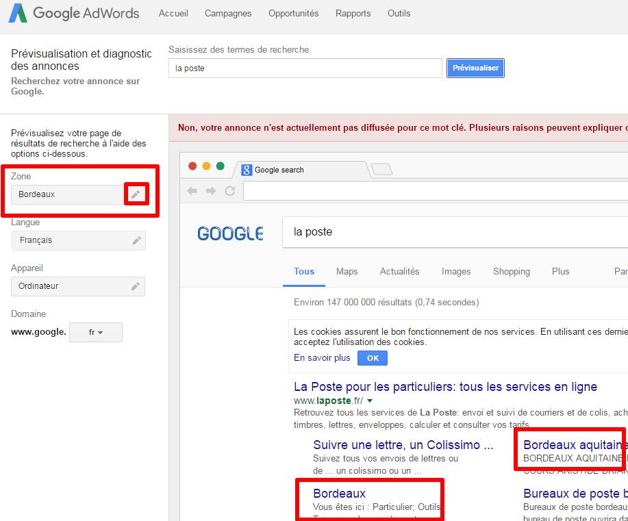 outil geolocalisation google