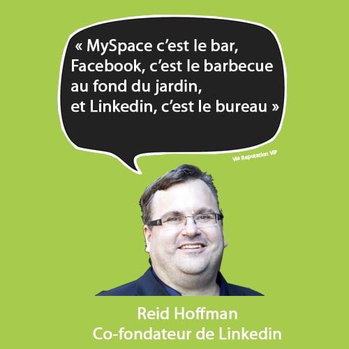 citation réputation numérique Hoffman