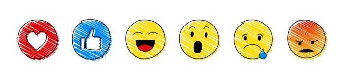 Reaction emoji Facebook