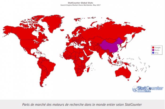 Usage Google Mondial