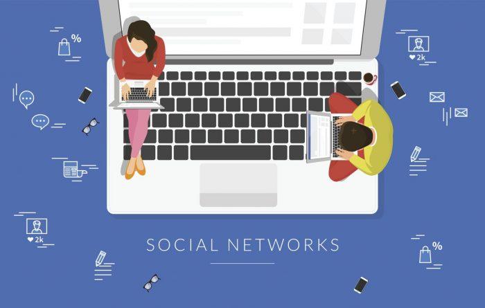 personnes sur les réseaux sociaux